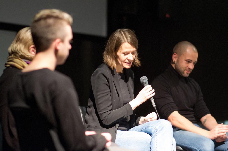 Mintautė Jurkutė (viduryje), Viktoro Volkovo nuotr.