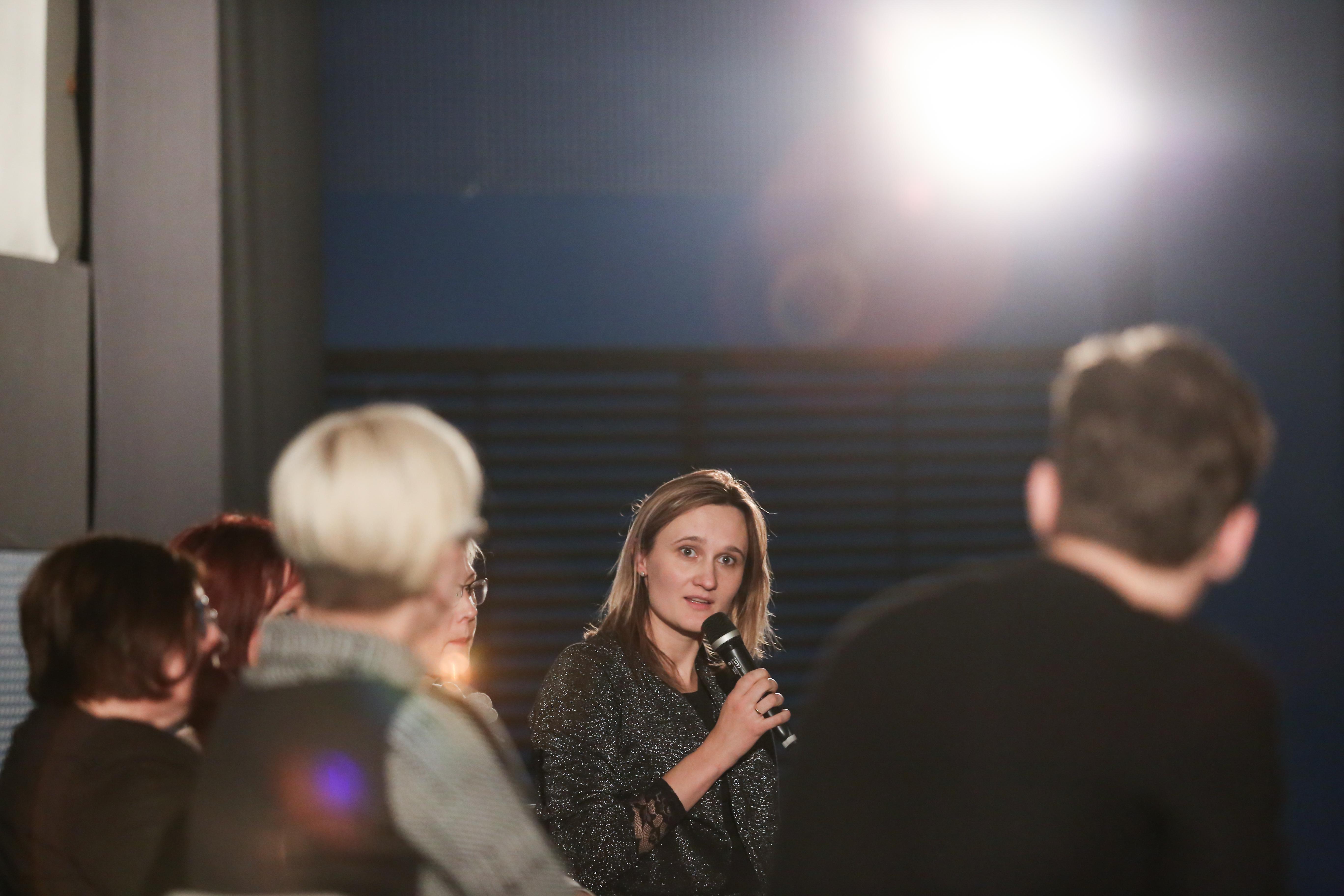 Viktorija Čmilytė-Nielsen, Ievos Budzeikaitės nuotr.