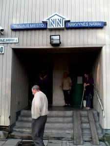 Vilniaus miesto nakvynės namai.