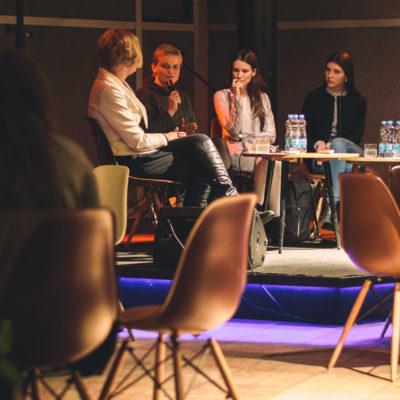 Iš kairės: M. Jankauskaitė, R. Vanagėlienė, E. Tilindienė, J. Kraučelytė, A. BelaitėM. Petronio nuotr.
