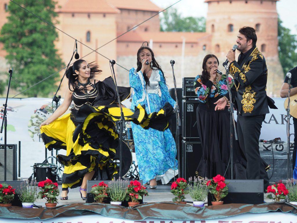 Sare Roma koncerto metu, Aleksandro Aziulevičiaus nuotr.