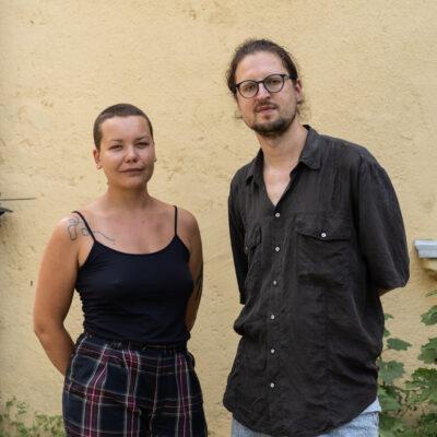 Viktorija Kolbešnikova ir Augustas Čičelis, Severinos Venckutės nuotr.