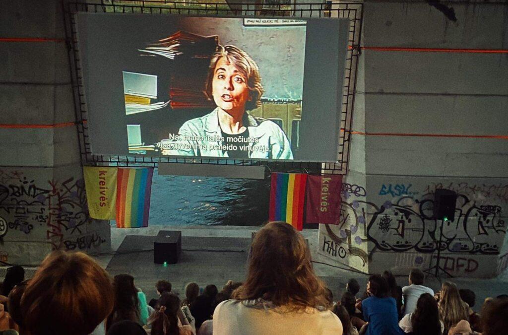 """Festivalio """"Kreivės"""" filmo peržiūra, organizatorių nuotr."""