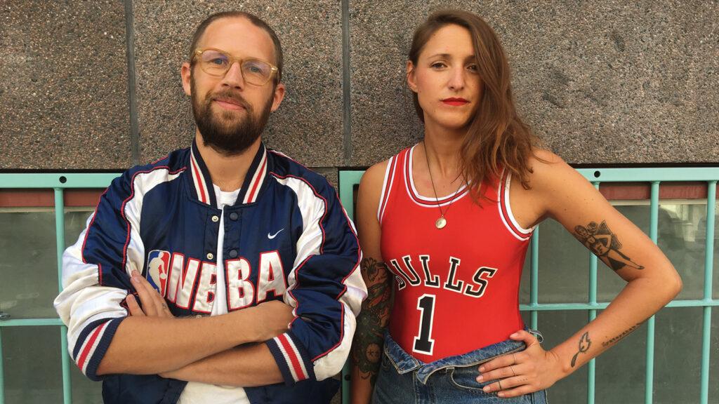 "Melissa Lindgren ir Oscar Eriksson, ""Cinema Queer"" nuotr."