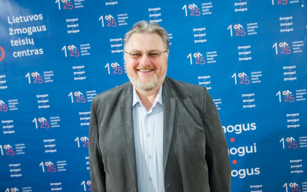 Romas Turonis, Lietuvos žmogaus teisių centro nuotr.